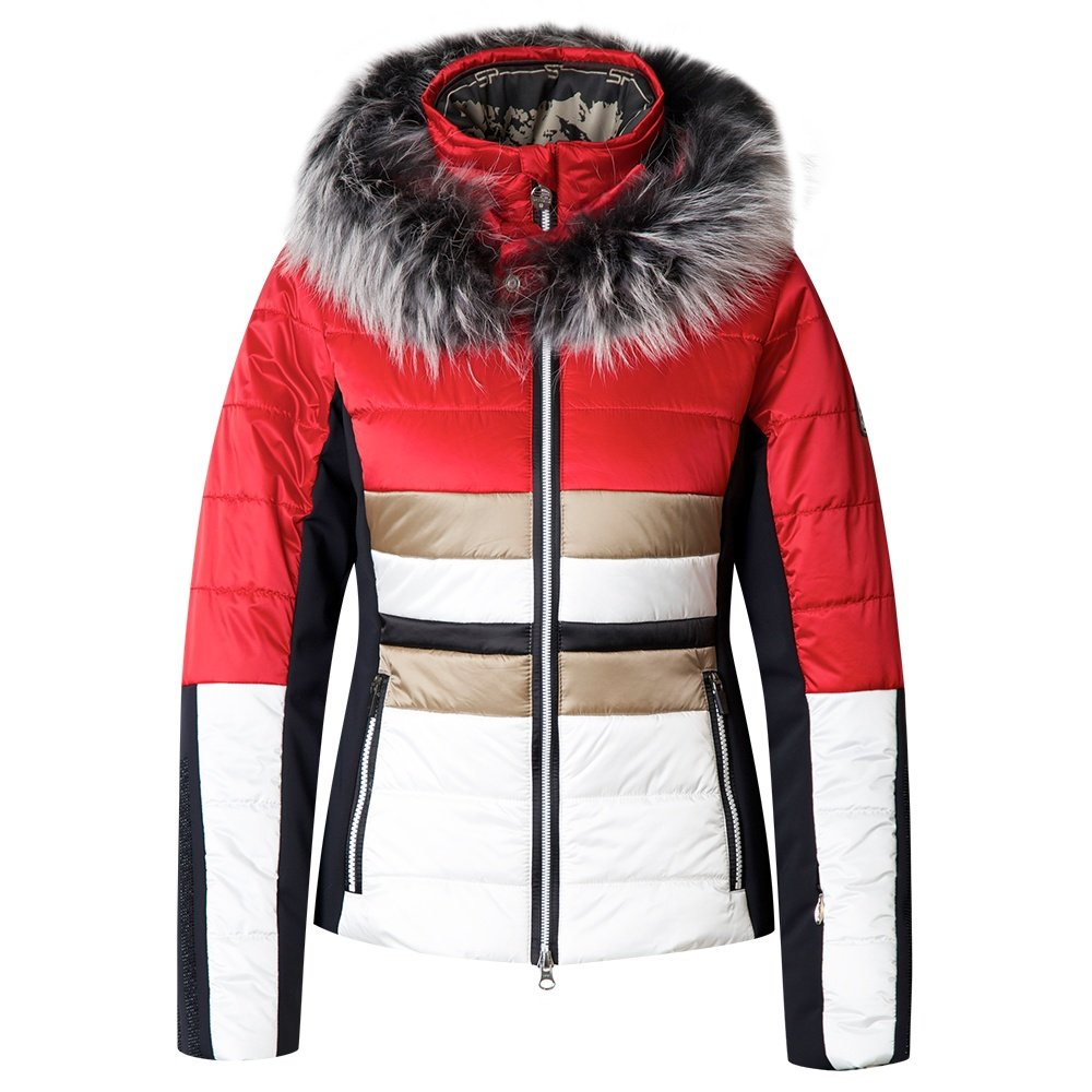 Sportalm Destiny Insulated Ski Jacket with Fur (Women's) - Mars Red