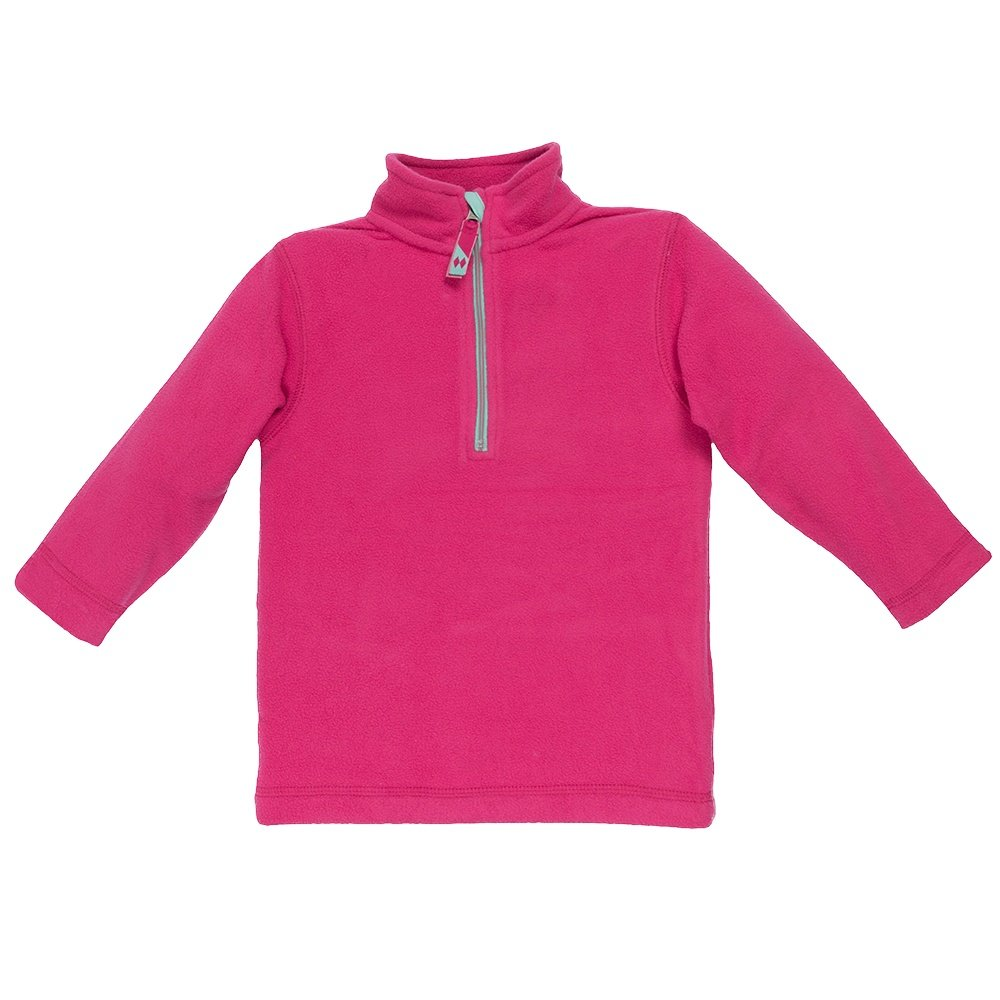 Double Diamond Marmot Half Zip Fleece Mid-Layer (Little Kids') - Magenta/Aqua