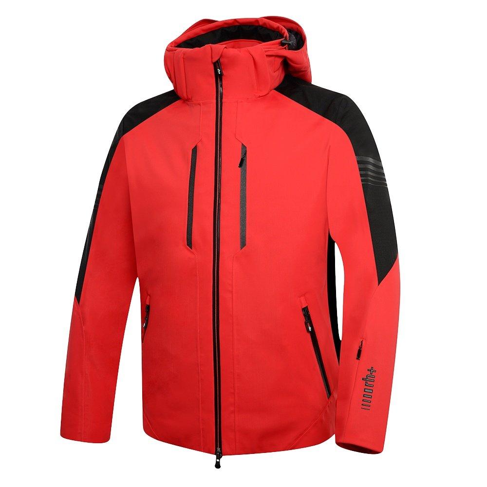Rh+ Logo KR Jacket (Men's) - Red/Black