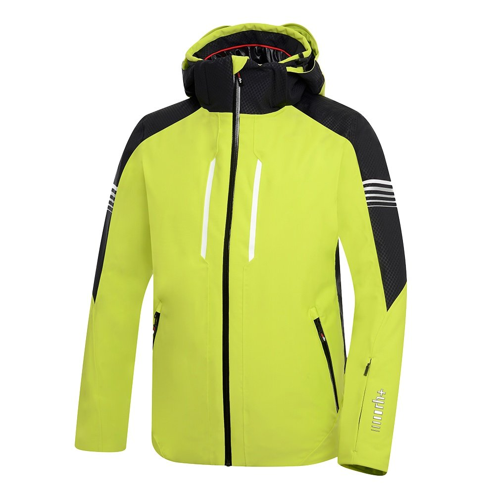 Rh+ Logo Jacket (Men's) - Wild Lime