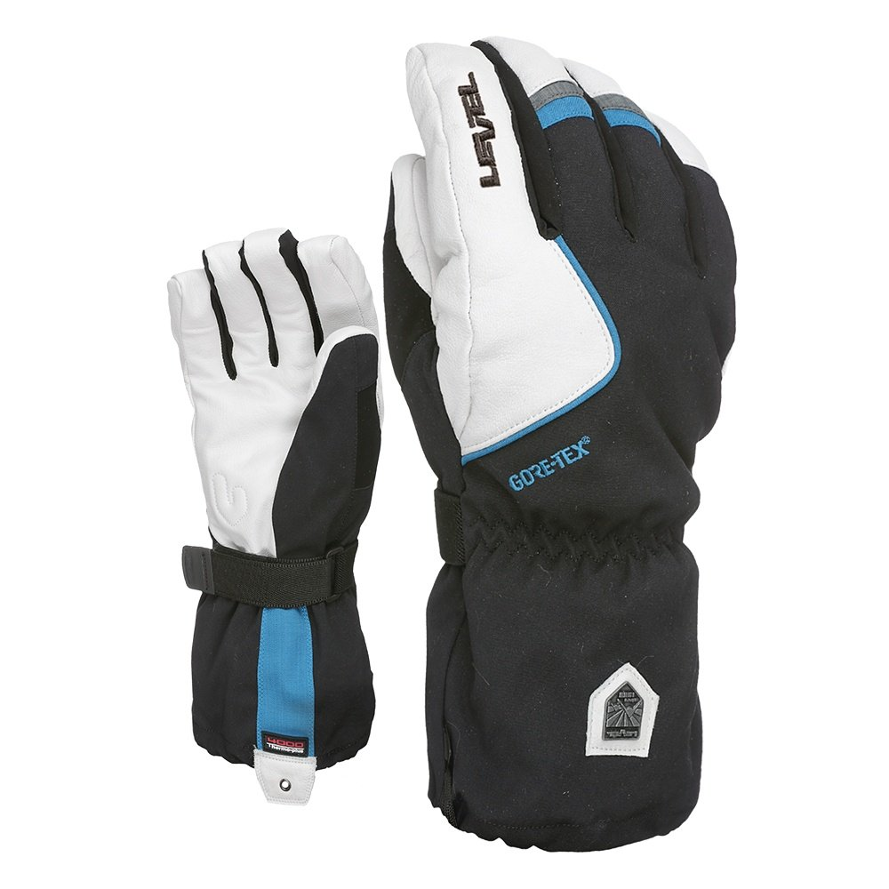Level Heli GORE-TEX Glove (Men's) - Black/White/Lava/Citrus