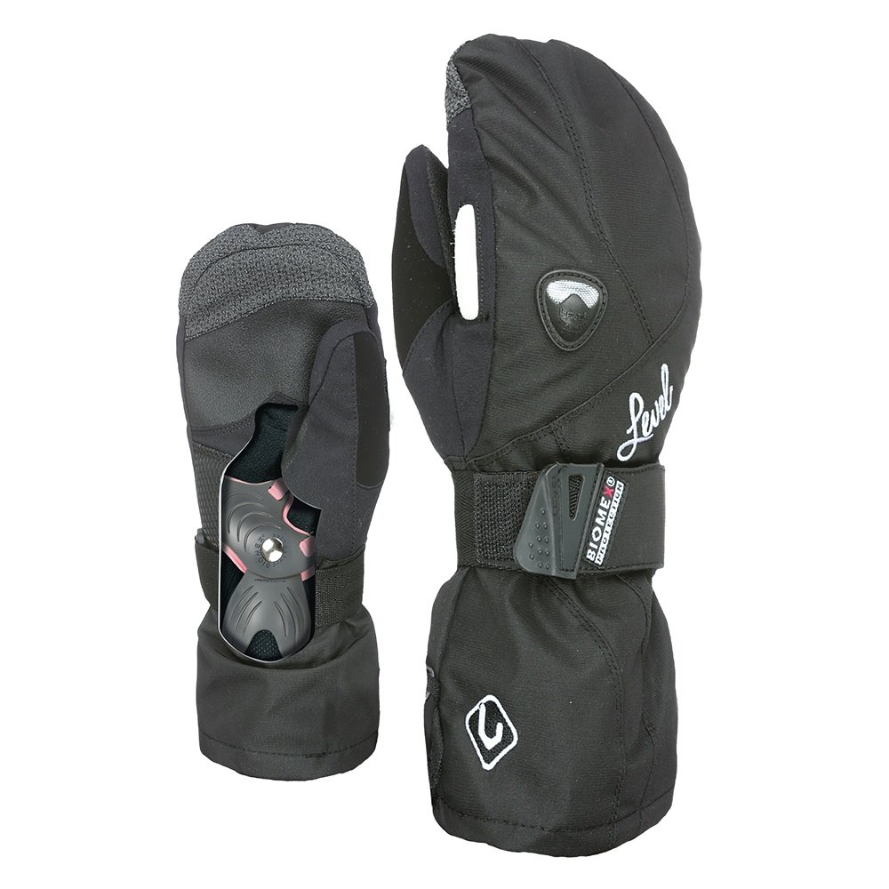 Level Butterfly Protection Mitt (Women's) - Black