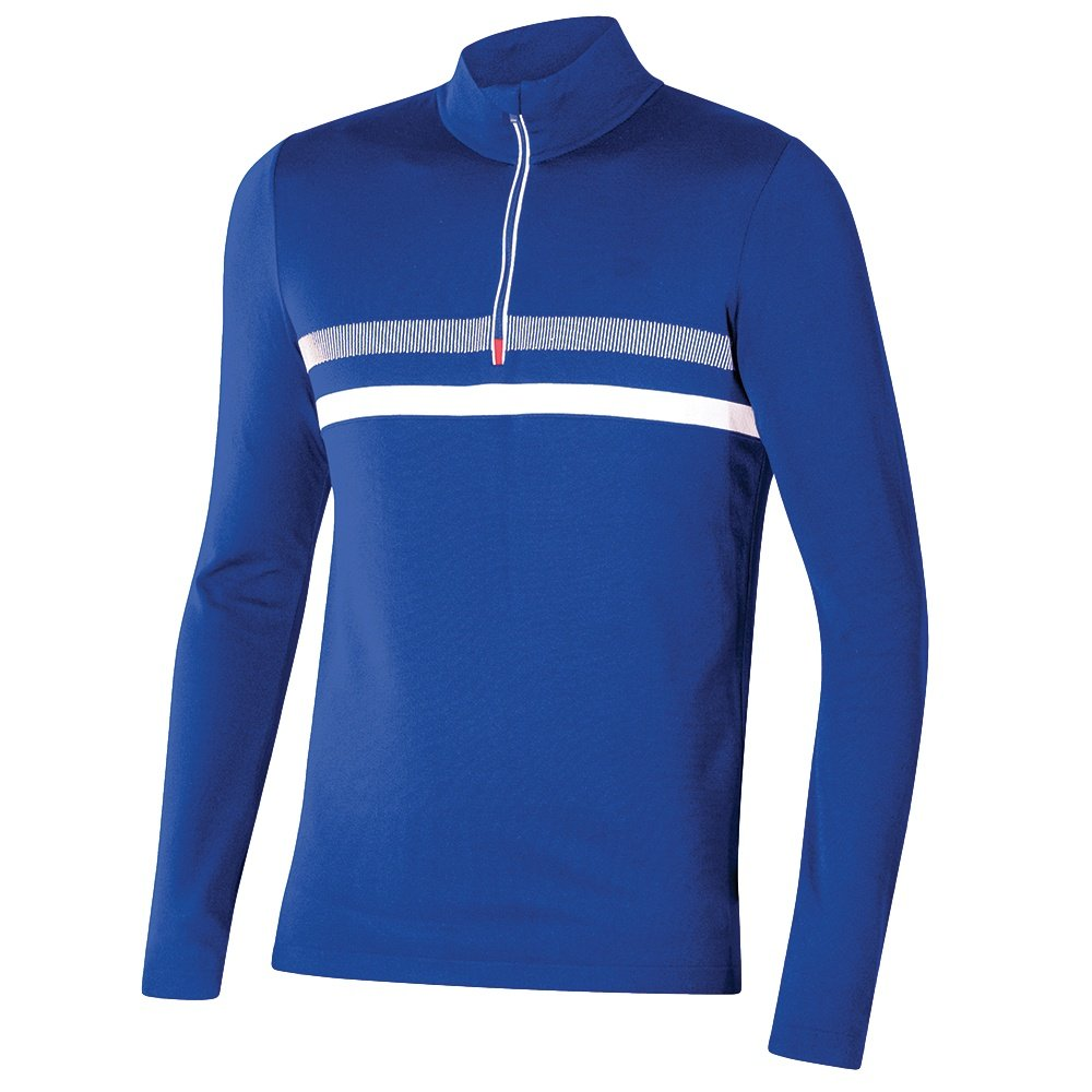 Newland Valtournenche 1/2-Zip Sweater (Men's) - Royal Blue/White
