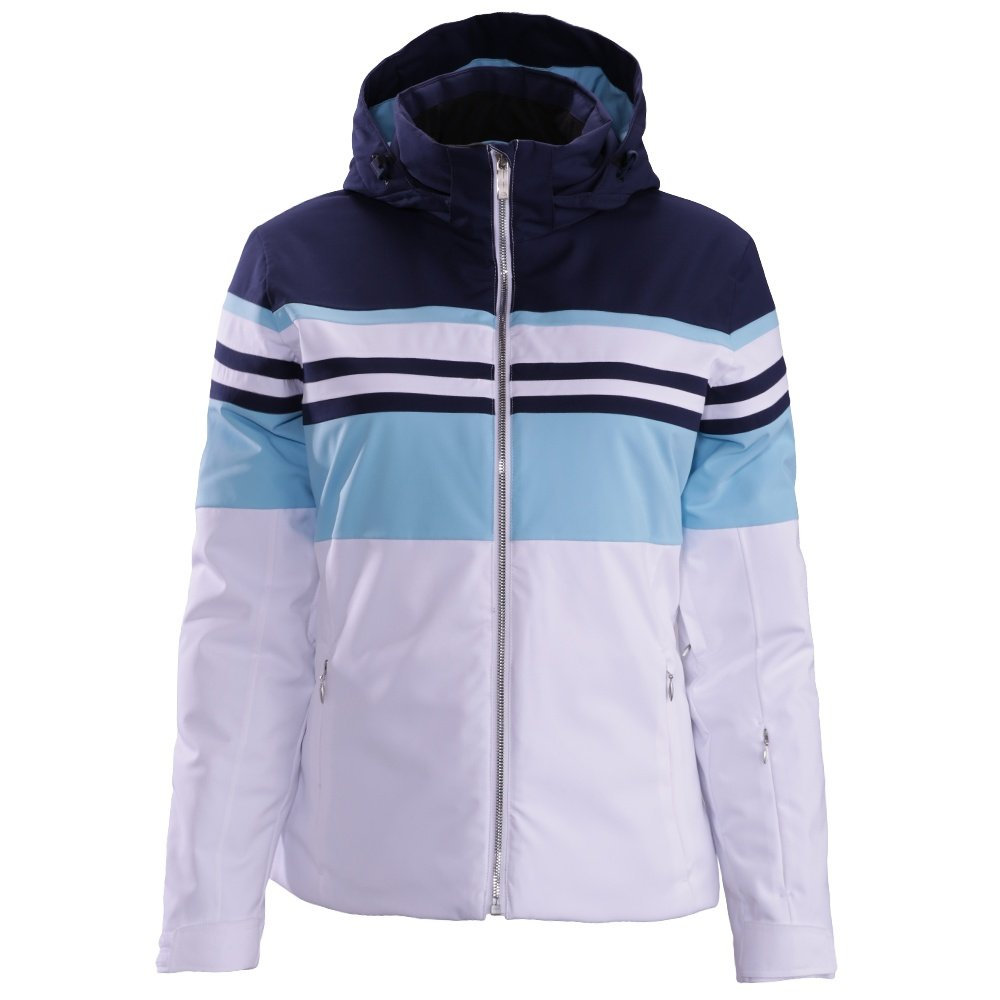 Descente Rowan Jacket (Women's) - Dark Night/Ice Blue/Super White