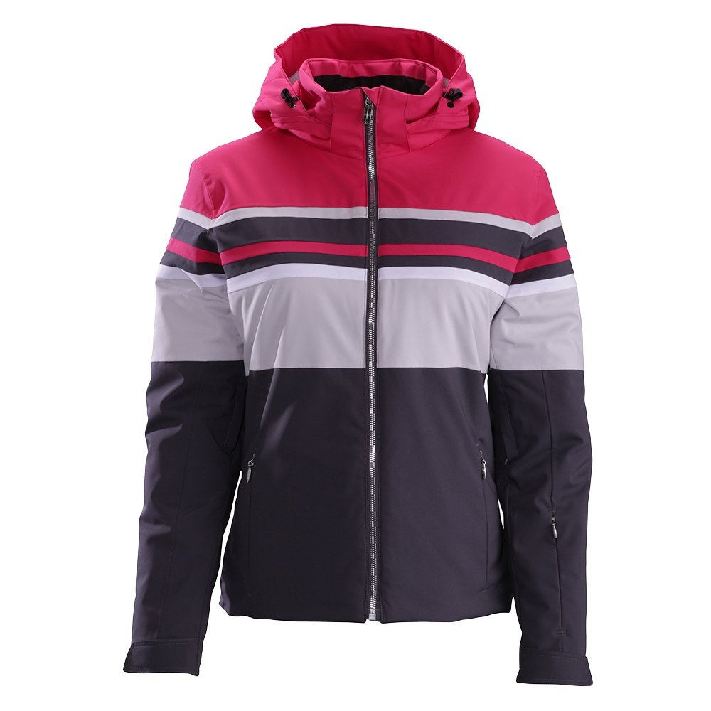 Descente Rowan Jacket (Women's) - Crimson Pink/Moonstone Gray
