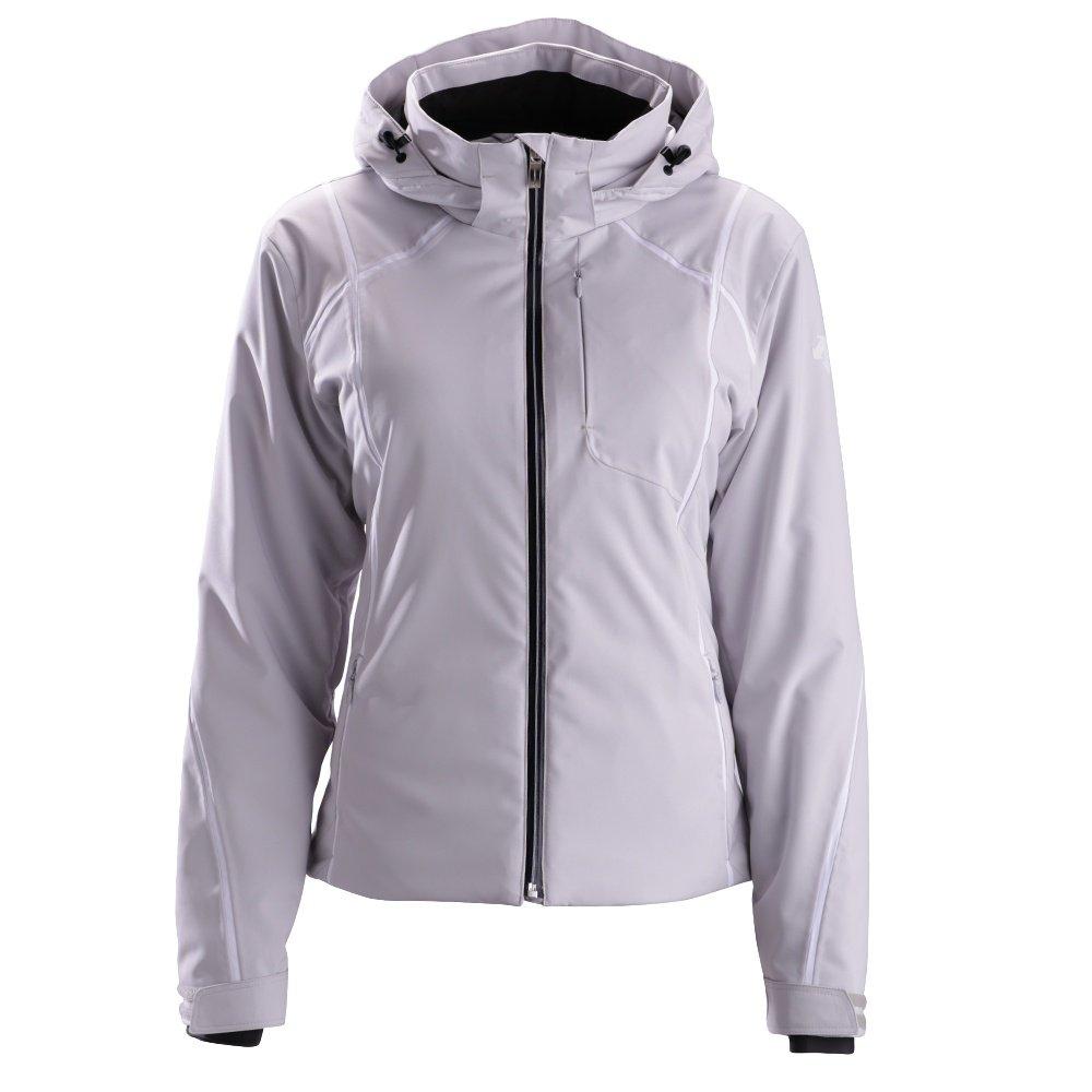 Descente Bree Jacket (Women's) - Moonstone Gray/Super White/Black