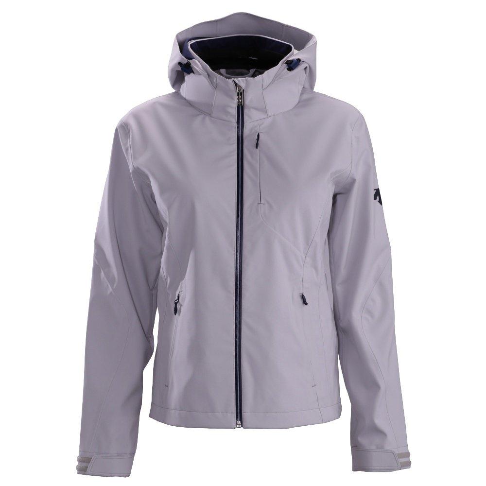 Descente Lotus Shell Jacket (Women's) - Moonstone Gray/Dark Night