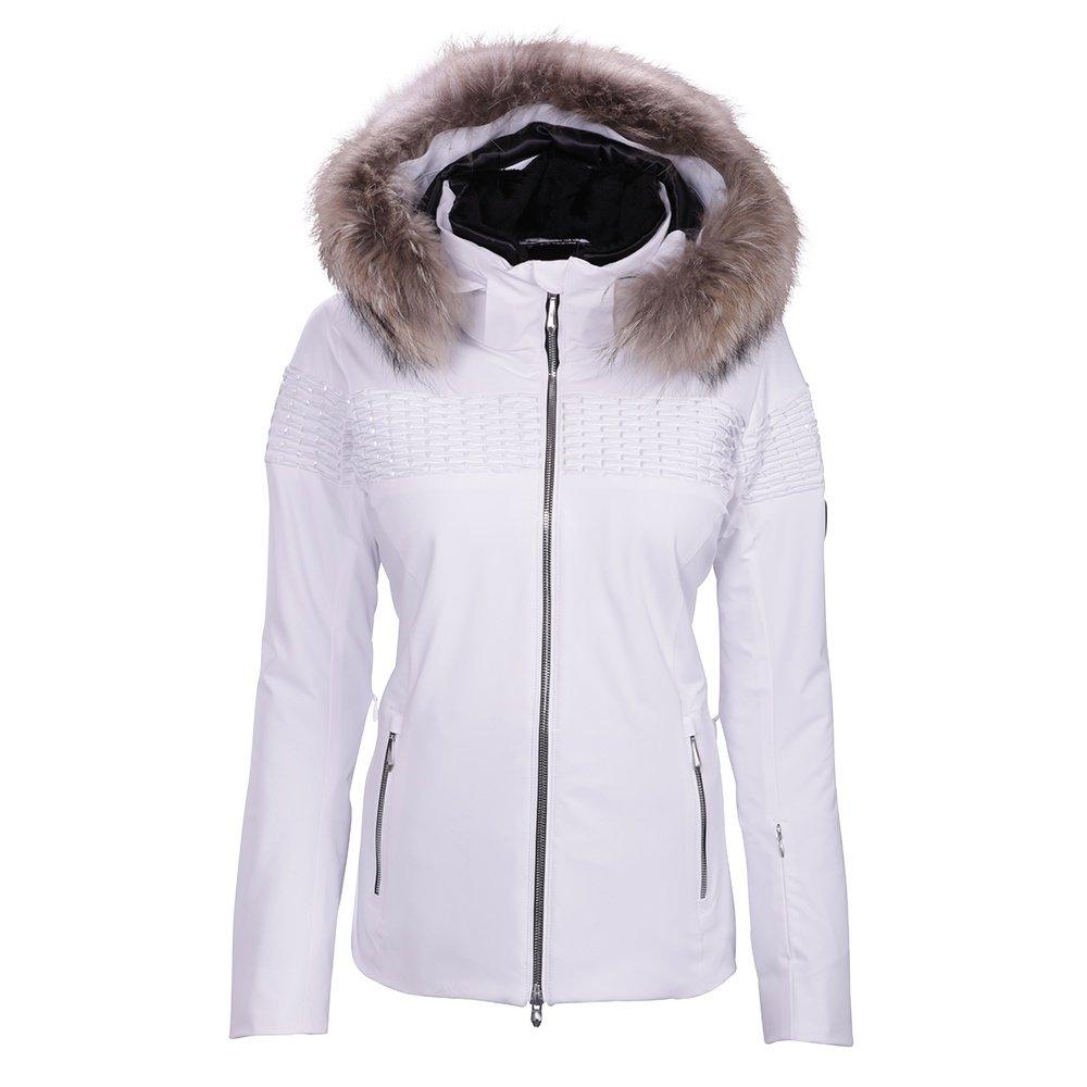 Descente Emerie Jacket with Fur (Women's) - Super White