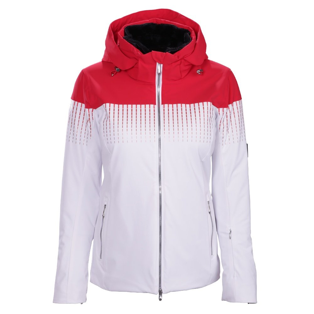 Descente Reagon Jacket (Women's) - Electric Red/Super White
