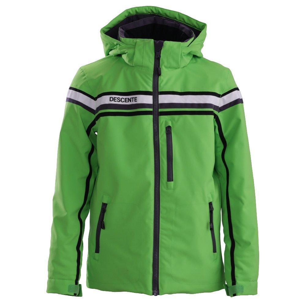 Descente Cruz Ski Jacket (Boys') - Nitro Green/Anthracite Gray