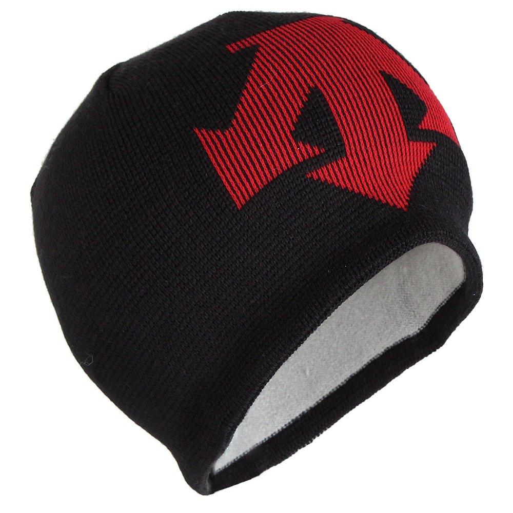 Descente Spirit Hat (Boys') - Black/Electric Red