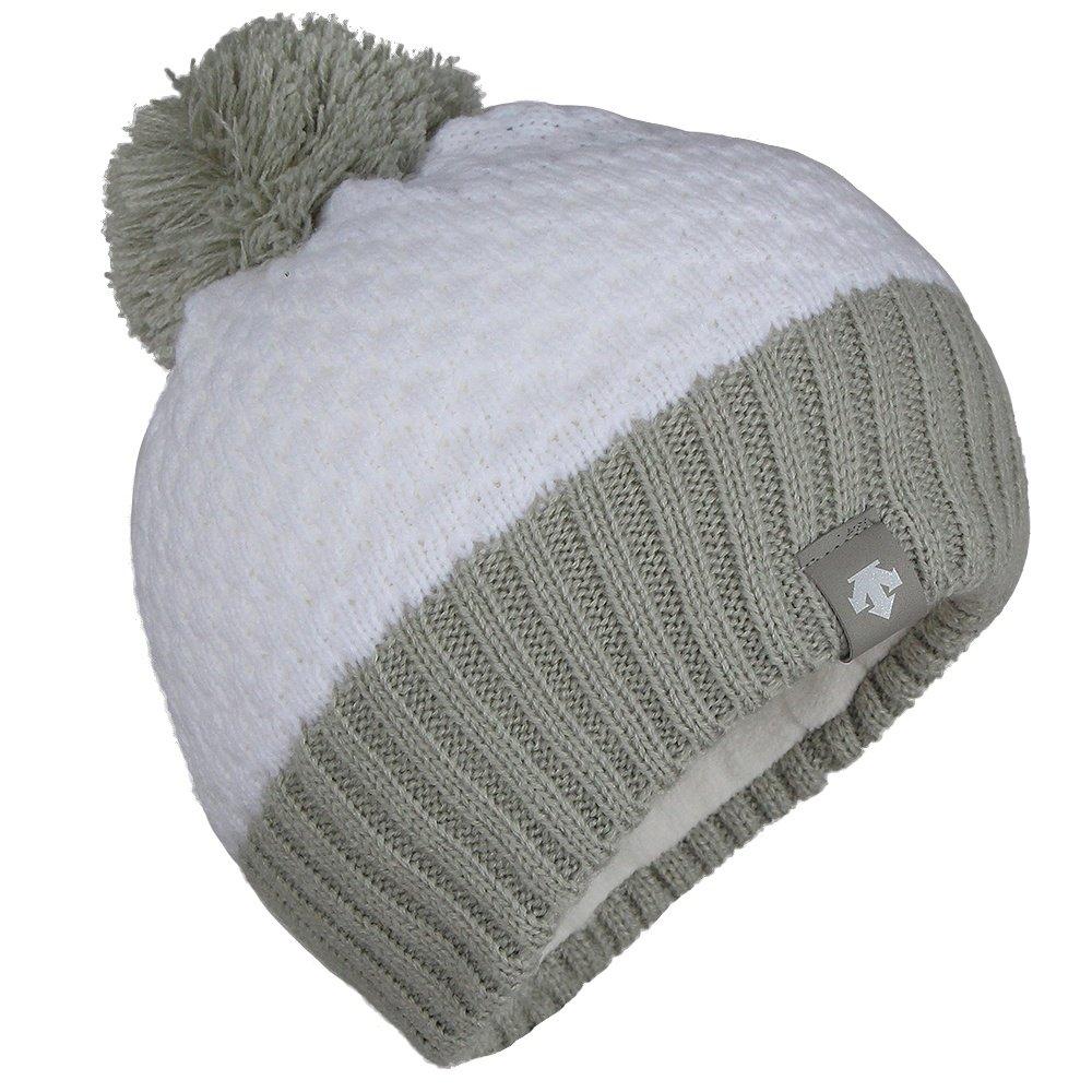 Descente Sophie Hat (Girls') - Super White/Moonstone Gray