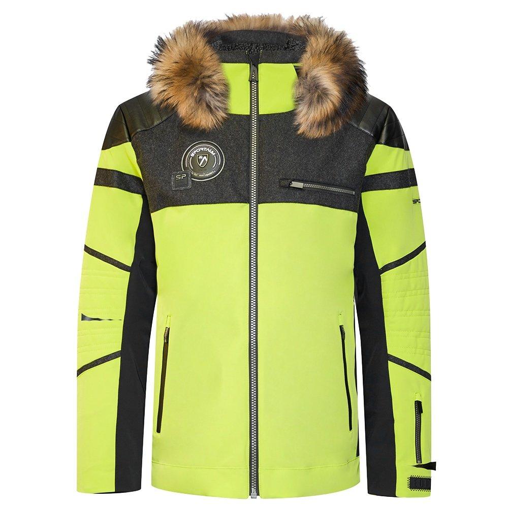 Sportalm Grace Insulated Ski Jacket with Fur (Men's) - Lemon