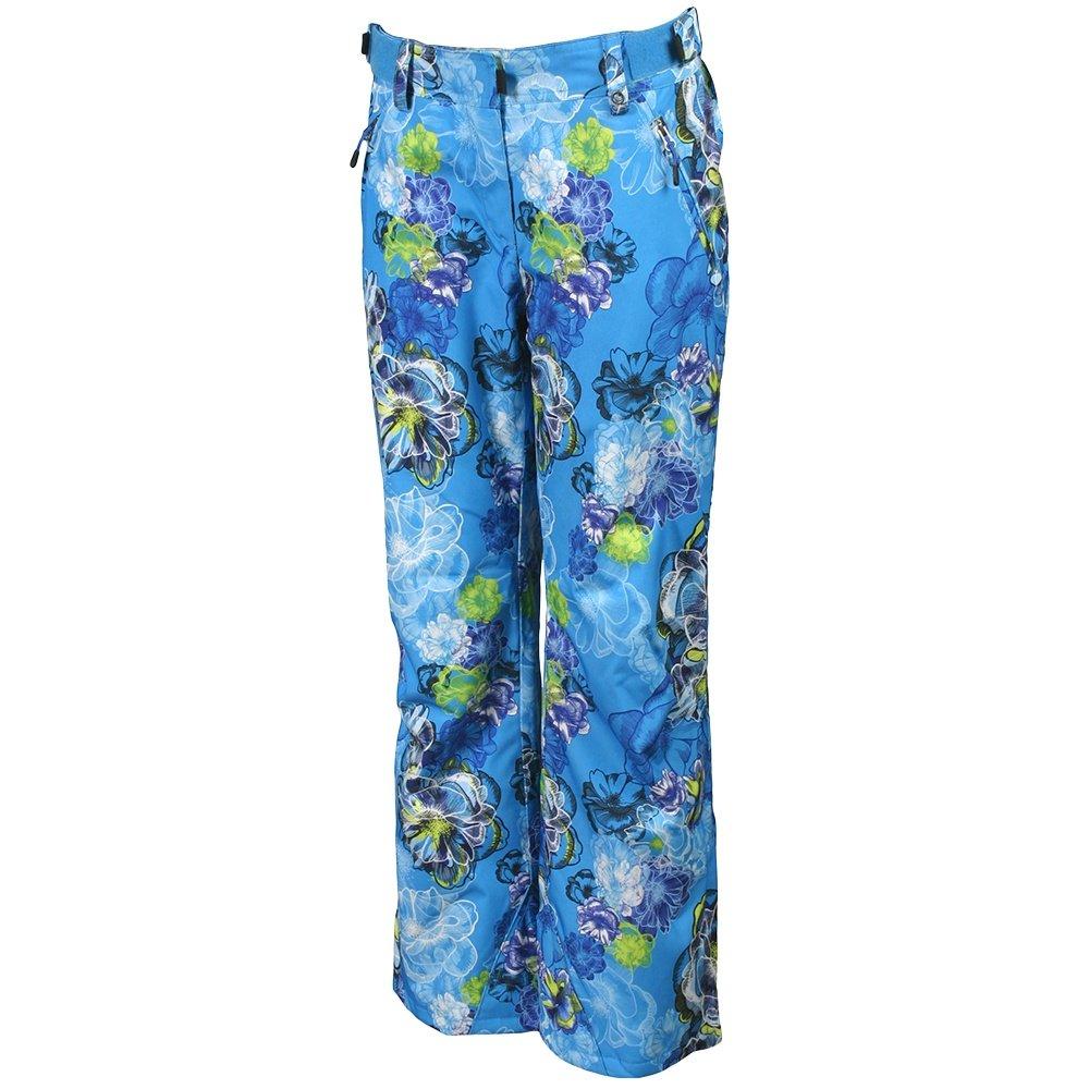 Karbon Pearl Ski Pant (Women's) - Cayman Blue Print