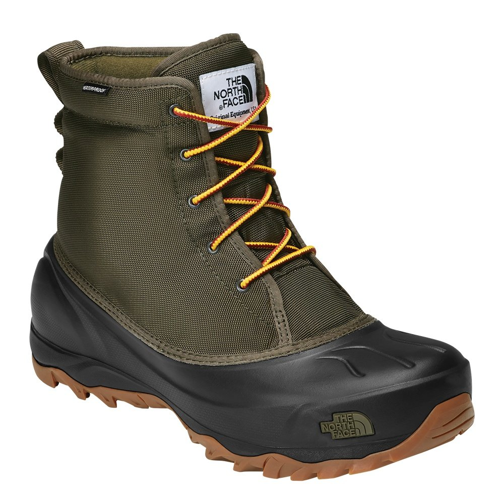 The North Face Tsumoru Winter Boots (Men's) - Tarmac Green/TNF Black