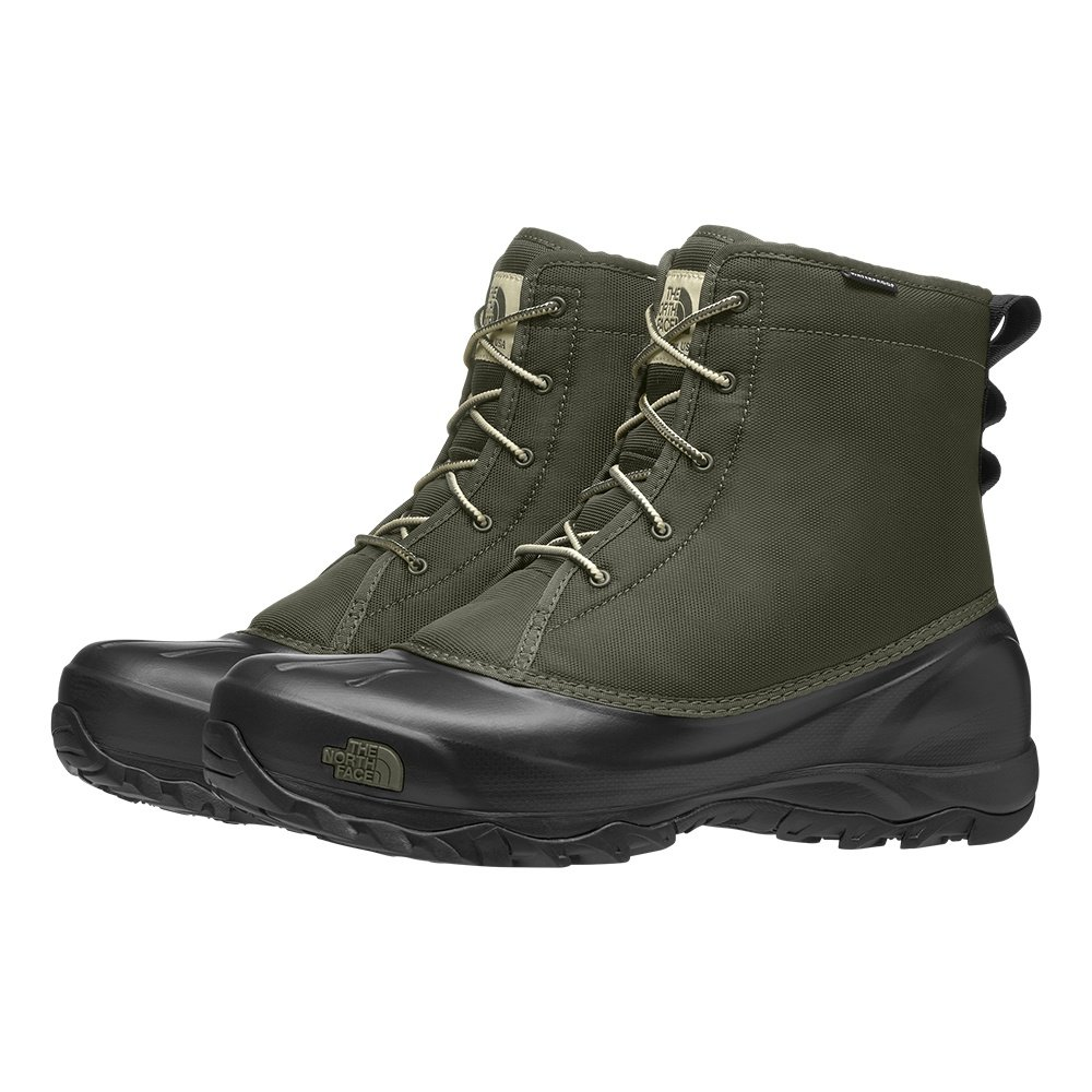 The North Face Tsumoru Winter Boots (Men's) - New Taupe Green/TNF Black