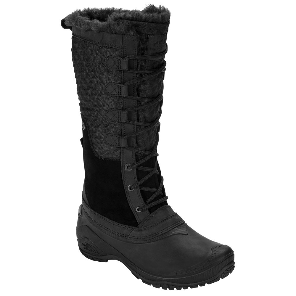 The North Face Shellista II Tall Boot (Women's) - TNF Black/TNF Black