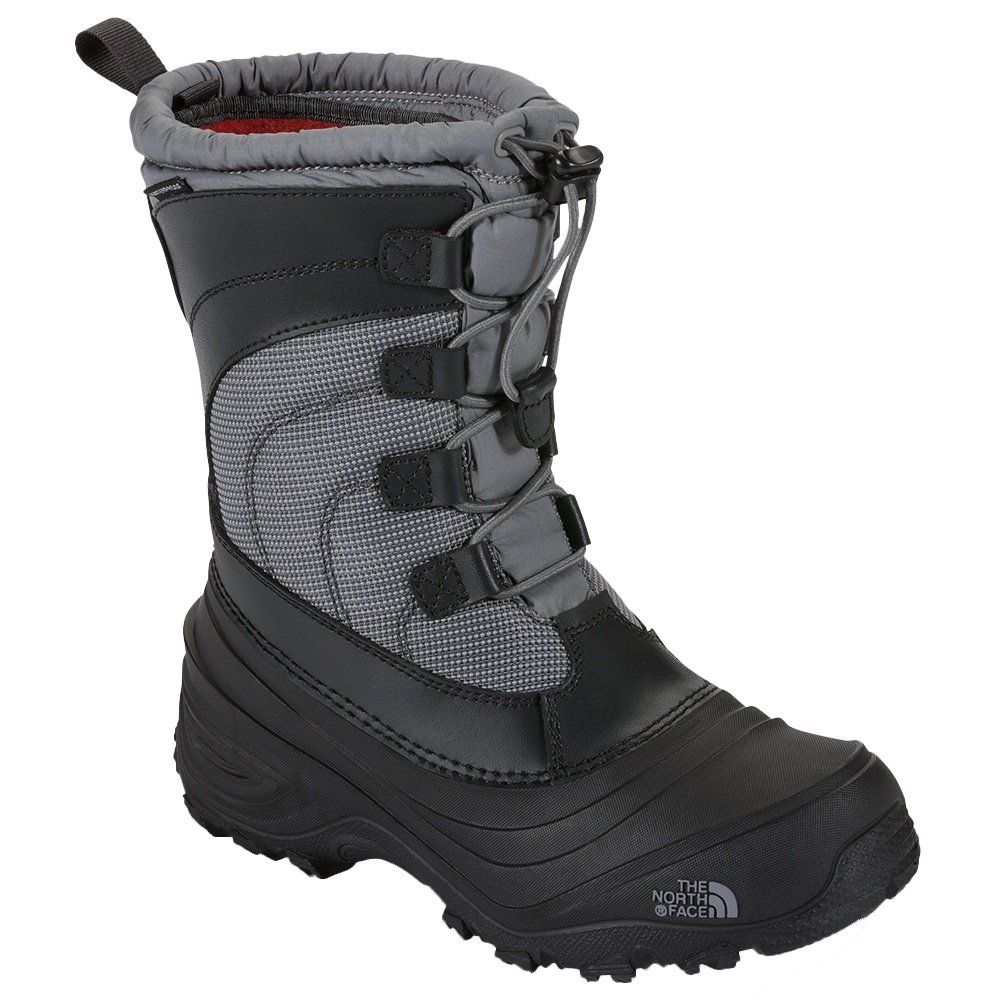 The North Face Alpenglow IV Winter Boot (Little Kids') - Griffin Grey/Zinc Grey