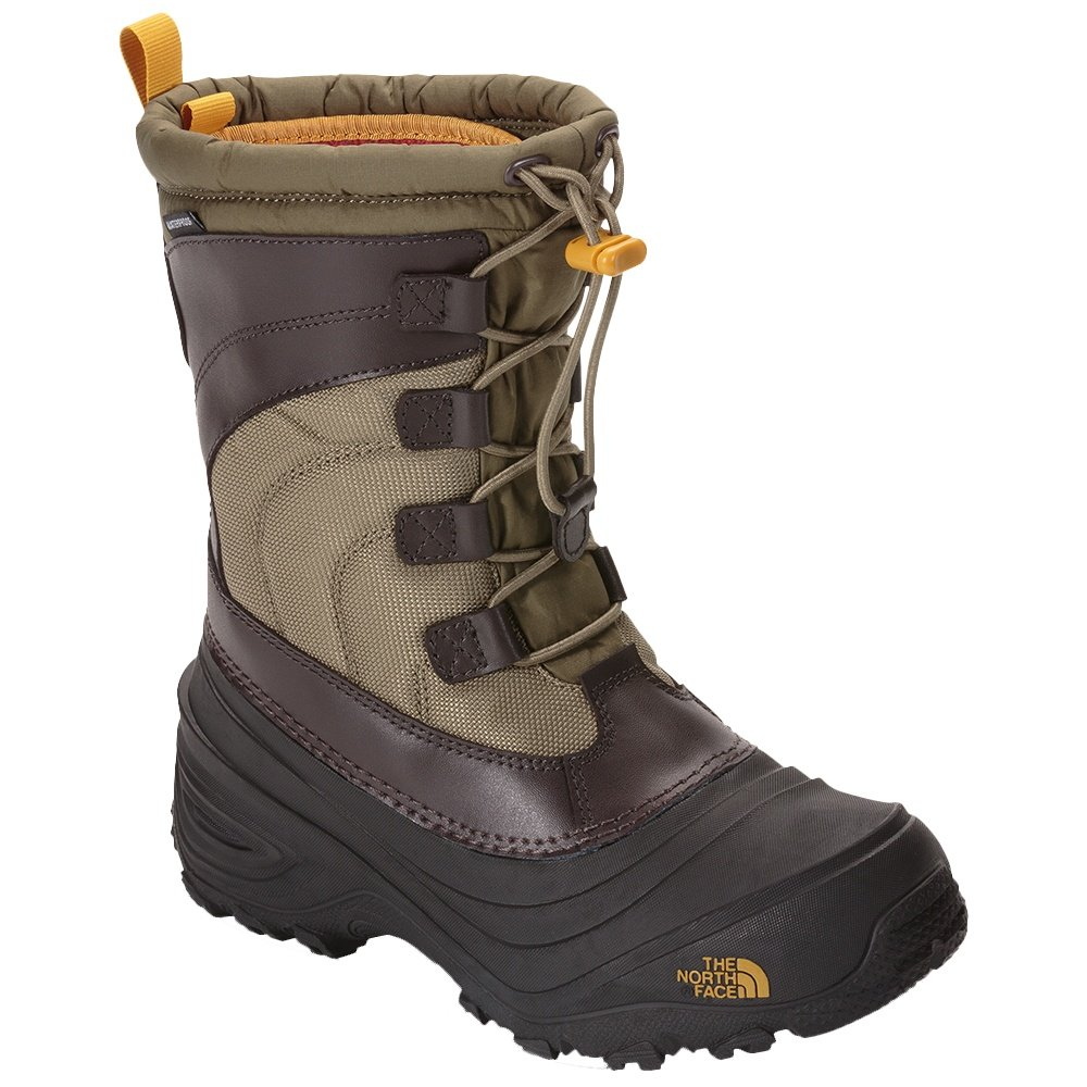 The North Face Alpenglow IV Winter Boot (Little Kids') - Burnt Olive