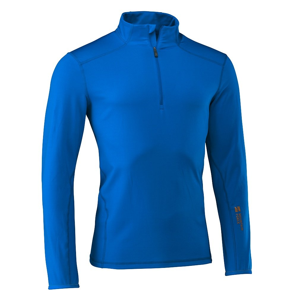 Mountain Force Grid Turtleneck Mid-Layer (Men's) - Sky Blue