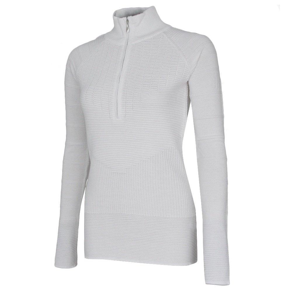 Skea Zip Turtleneck Sweater (Women's) - Ivory