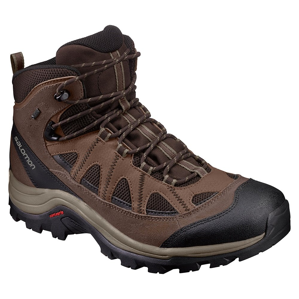 12c53c800ae Salomon Authentic Leather GORE-TEX Hiking Boots (Men's) | Peter Glenn