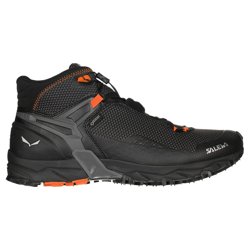 Salewa Ultra Flex Mid GORE-TEX Boots (Men's) - Black/Holland