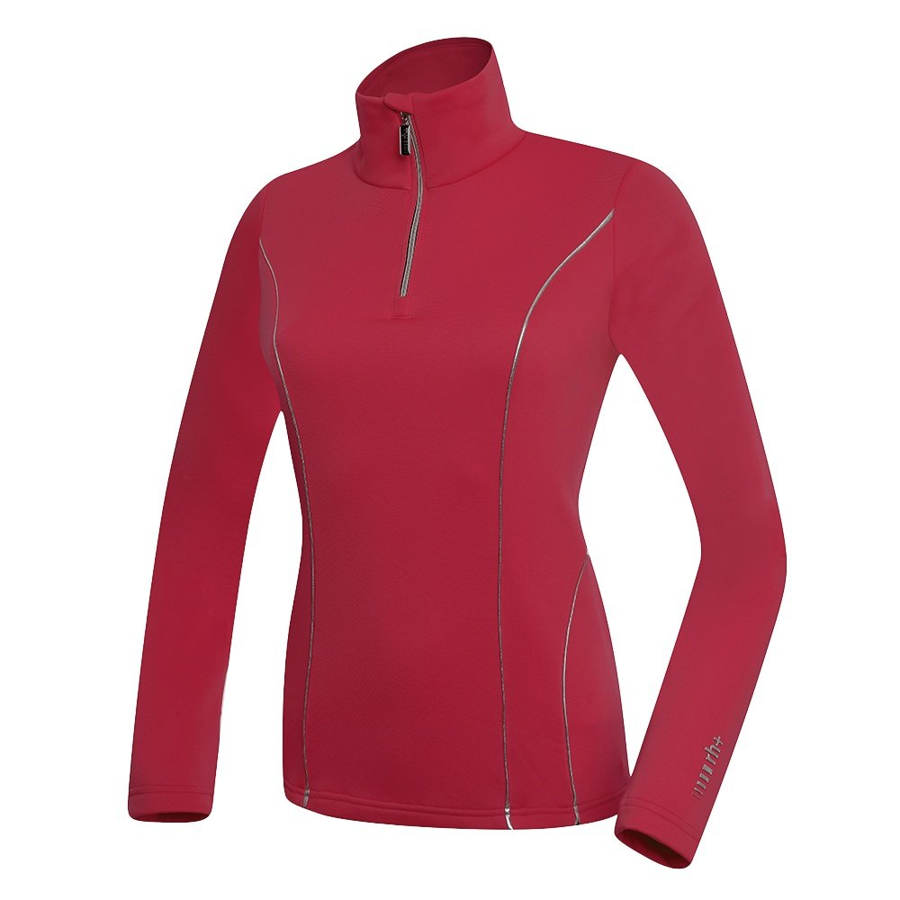 Rh+ Grace 1/4-Zip Turtleneck Mid-Layer (Women's) - Cherry