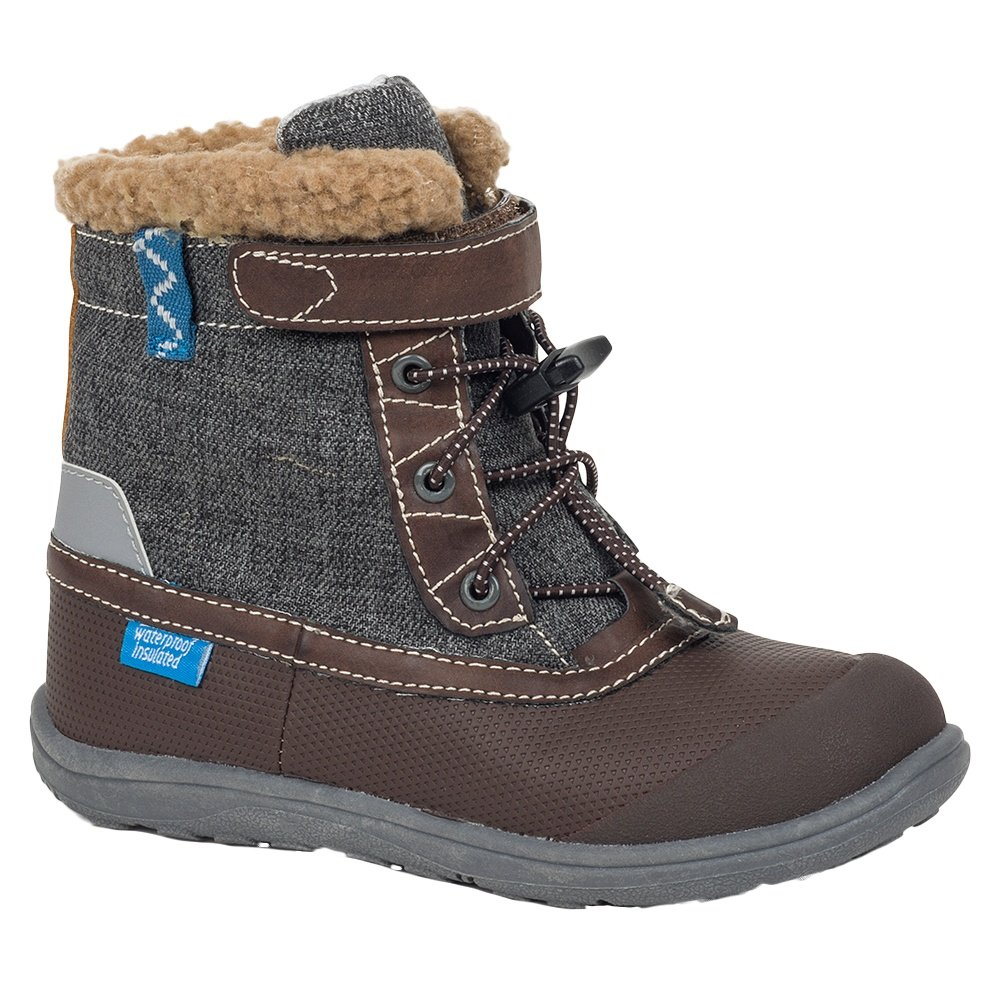 See Kai Run Jack Waterproof Winter Boots (Little Boys') - Brown