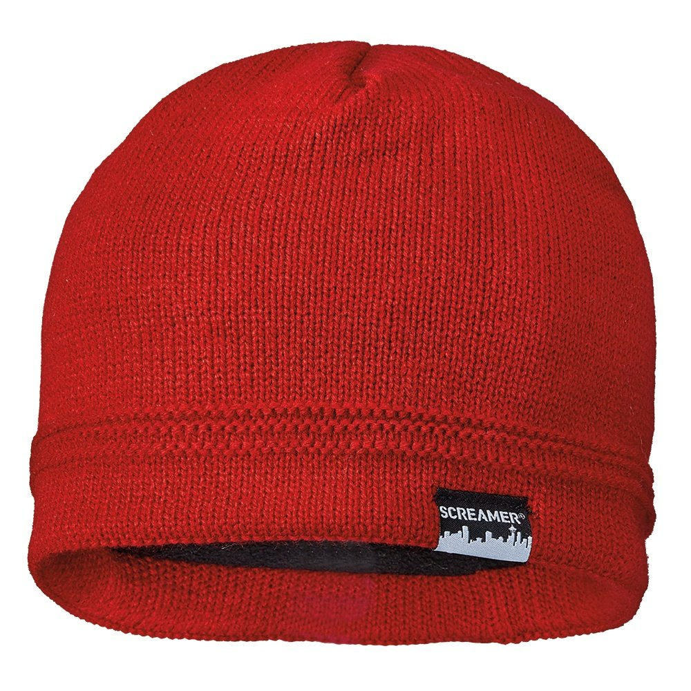 Screamer Wilson Beanie (Men's) - Red