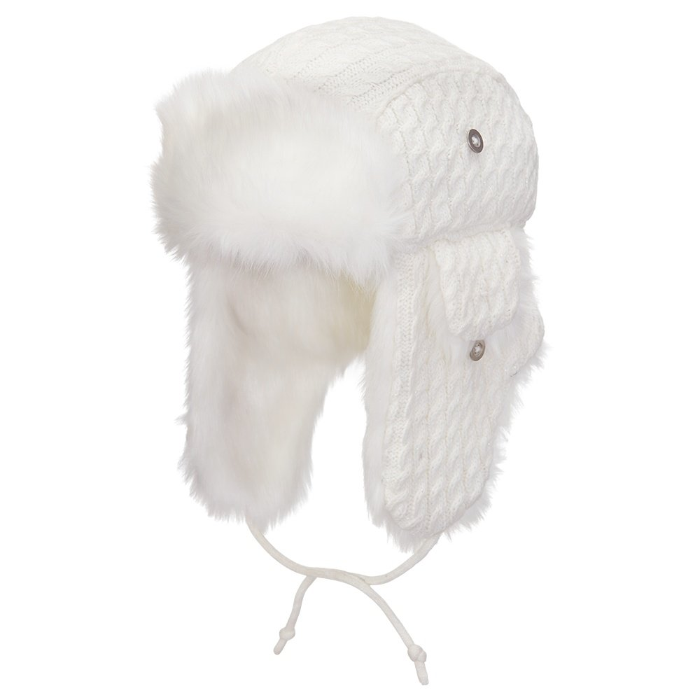 Screamer Violet Trapper Hat (Women's) - White