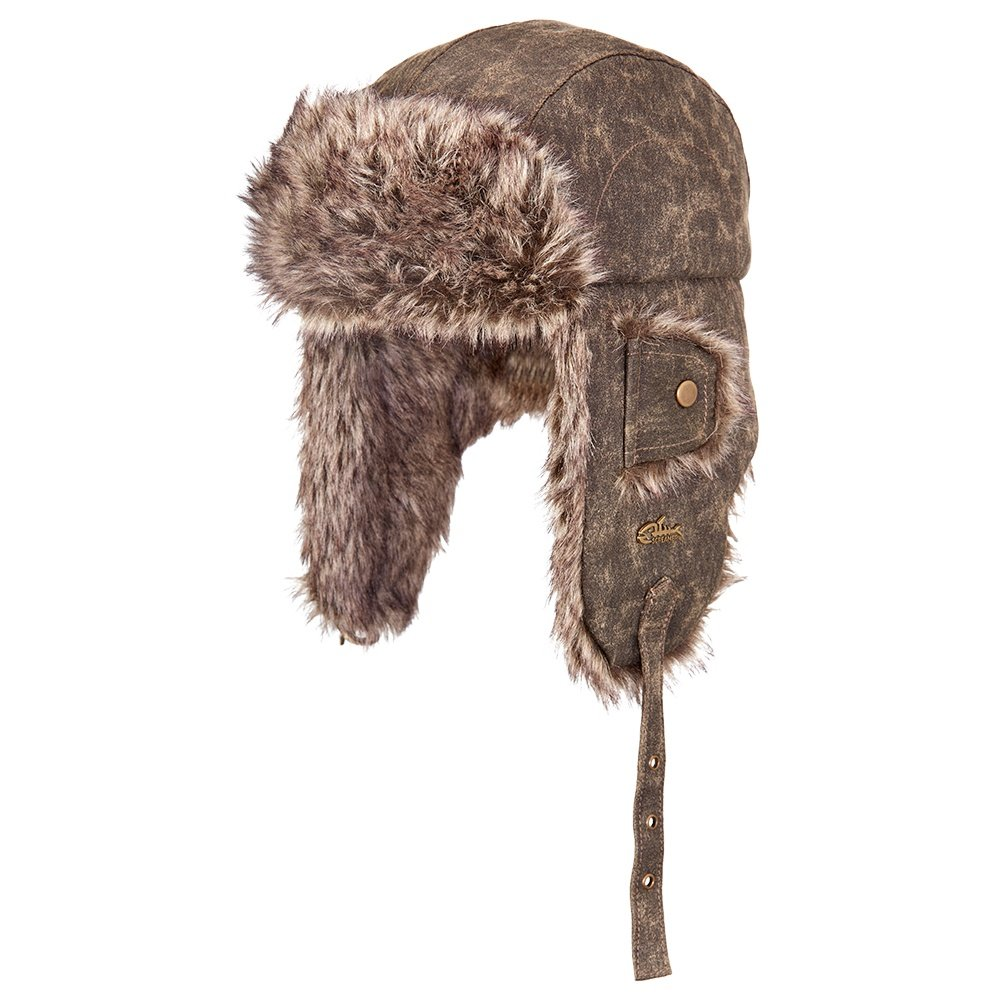Screamer Sierra Bomber Hat (Adults') - Stonewashed Coffee