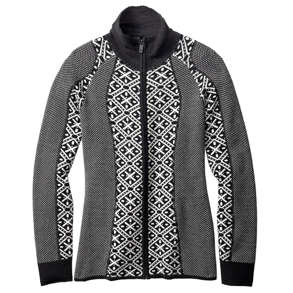 SmartWool Dacono Full Zip Sweater (Women's) - Black