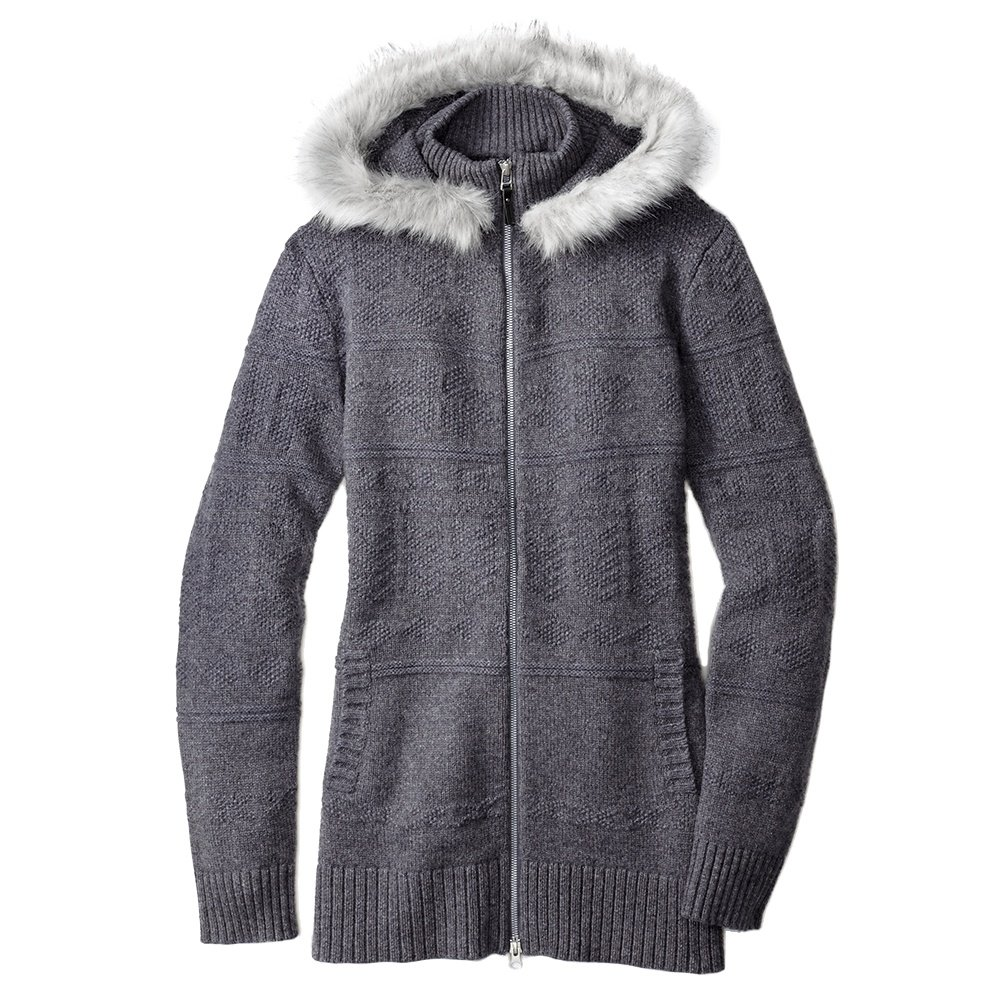 SmartWool Crestone Hooded Sweatshirt (Women's) - Medium Gray Heather
