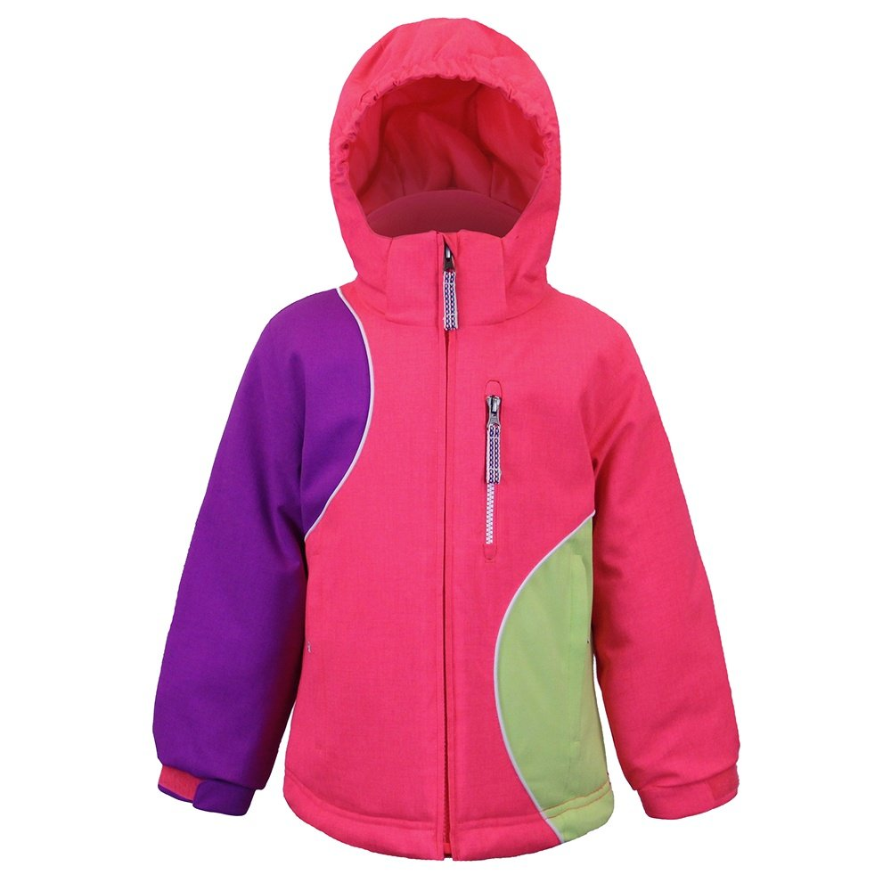 Boulder Gear Magical Jacket (Little Girls') - Pink Diva