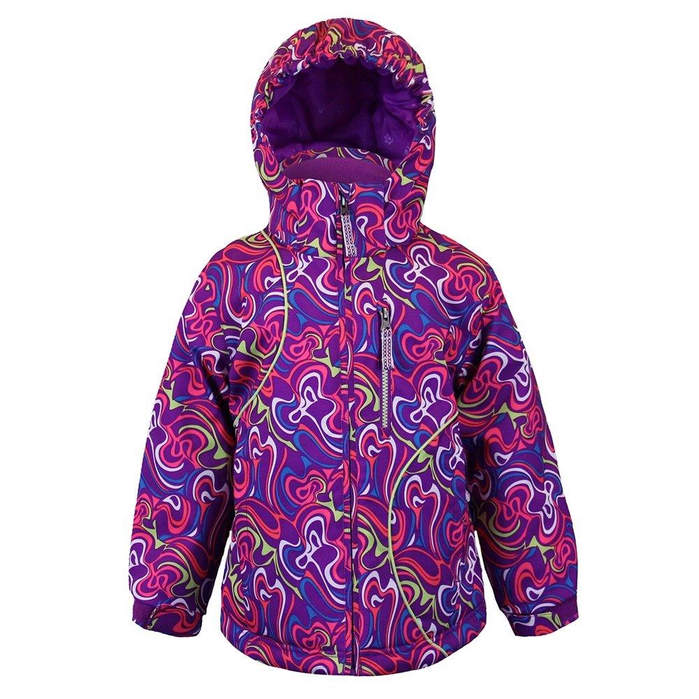 Boulder Gear Magical Jacket (Little Girls') - Whirl Print