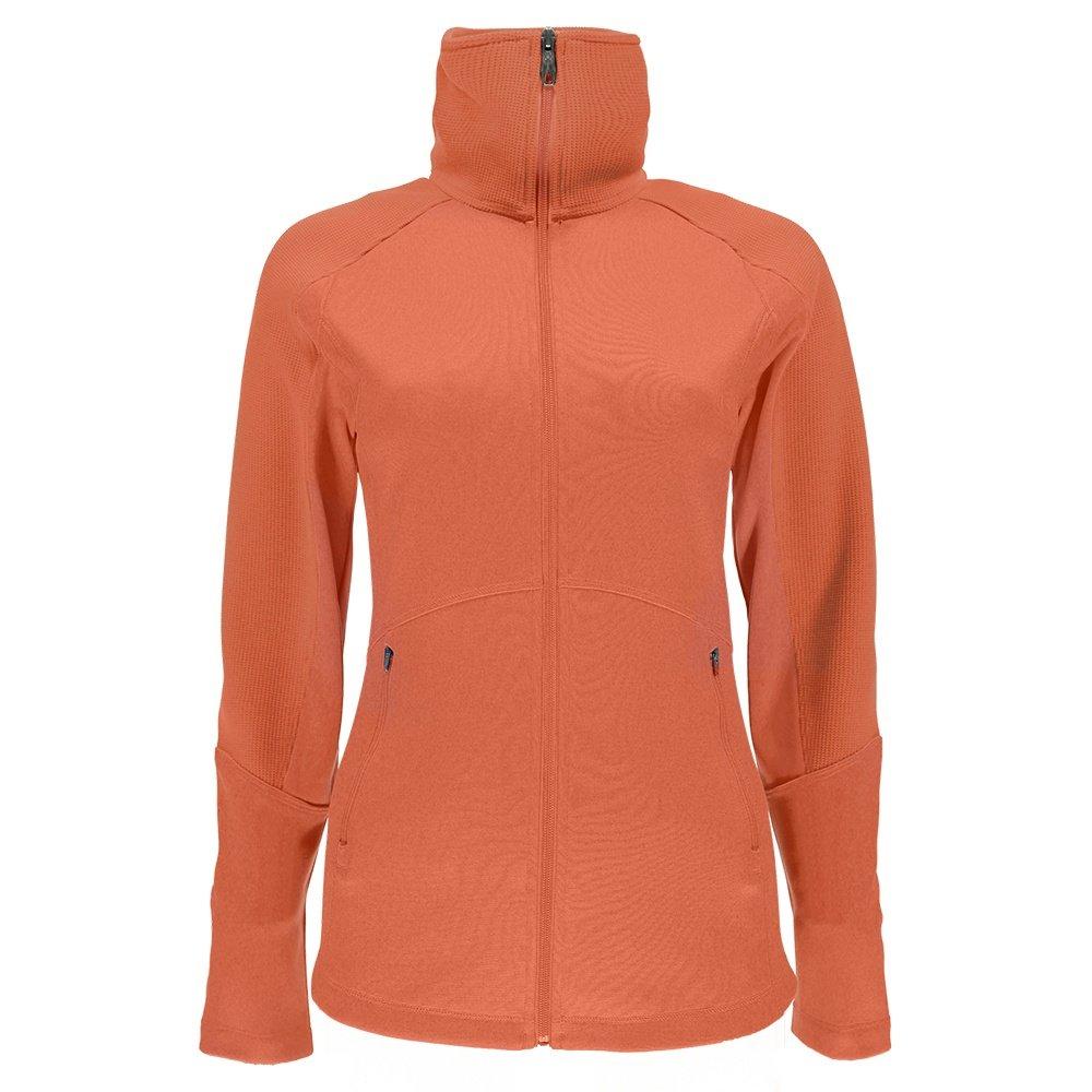 Spyder Bandita Full Zip Light Weight Stryke Jacket (Women's) - Coral