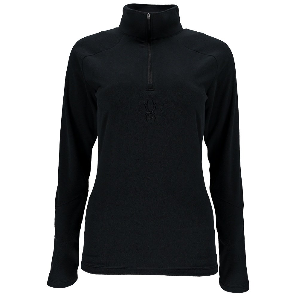 Spyder Shimmer Half Zip Turtleneck Mid-Layer (Women's) -