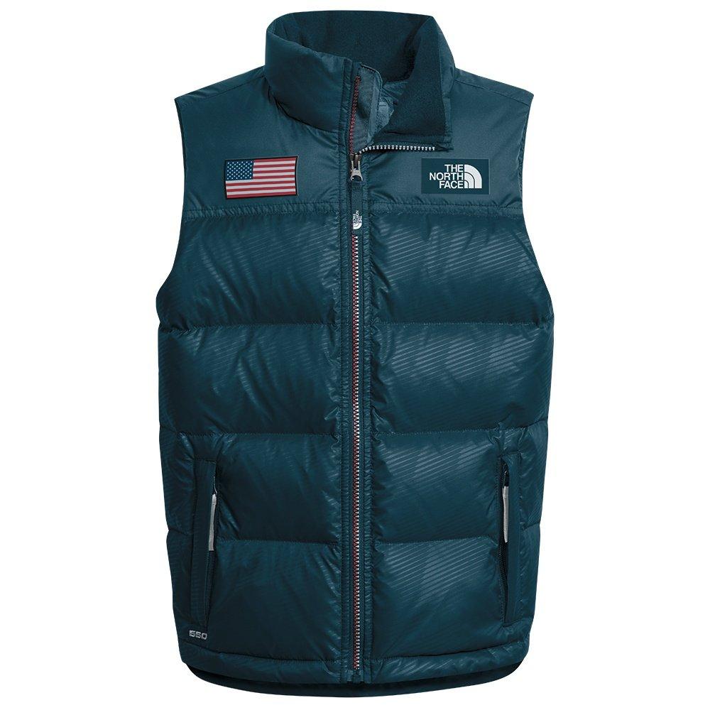 bf39c272aa ... Grey The North Face IC Nuptse Vest Jacket (Boys).