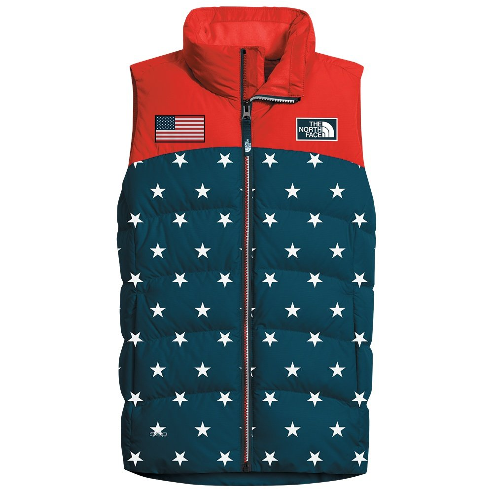 The North Face IC Nupste Vest (Girls') - Cosmic Blue Star Print
