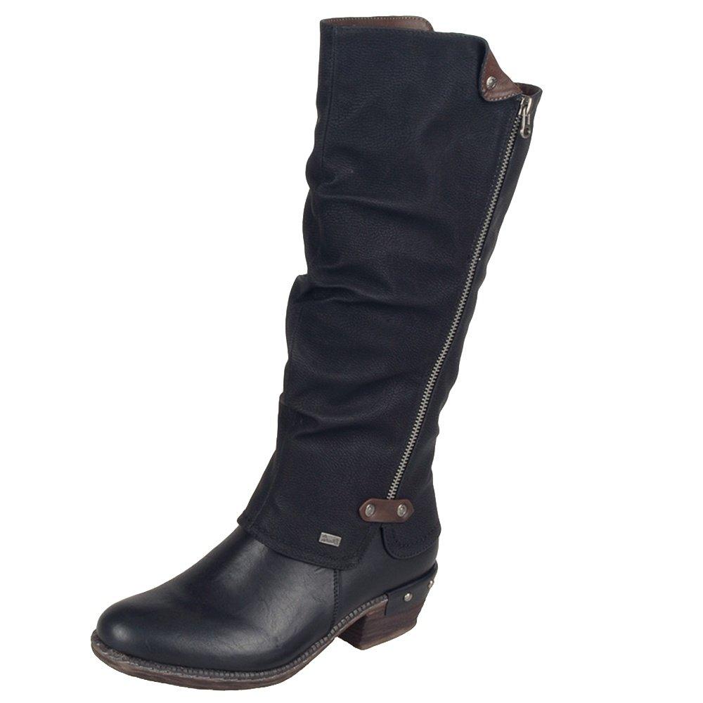 Rieker Bernadette 55 Winter Boots (Women's) - Schwarz