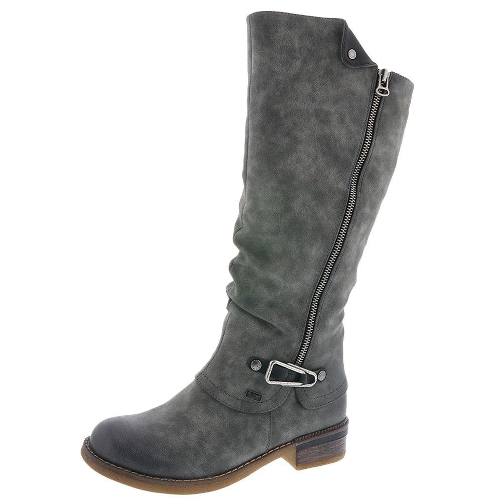 Rieker Fabrizia 52 Winter Boots (Women's) - Smoke