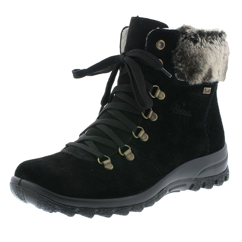 Rieker Eike 30 Winter Boots (Women's) - Black