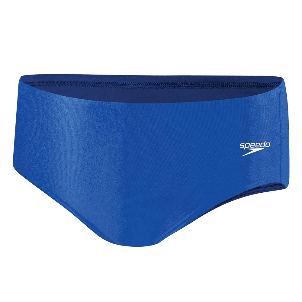 Speedo Solid Brief (Men's) - Speedo Blue