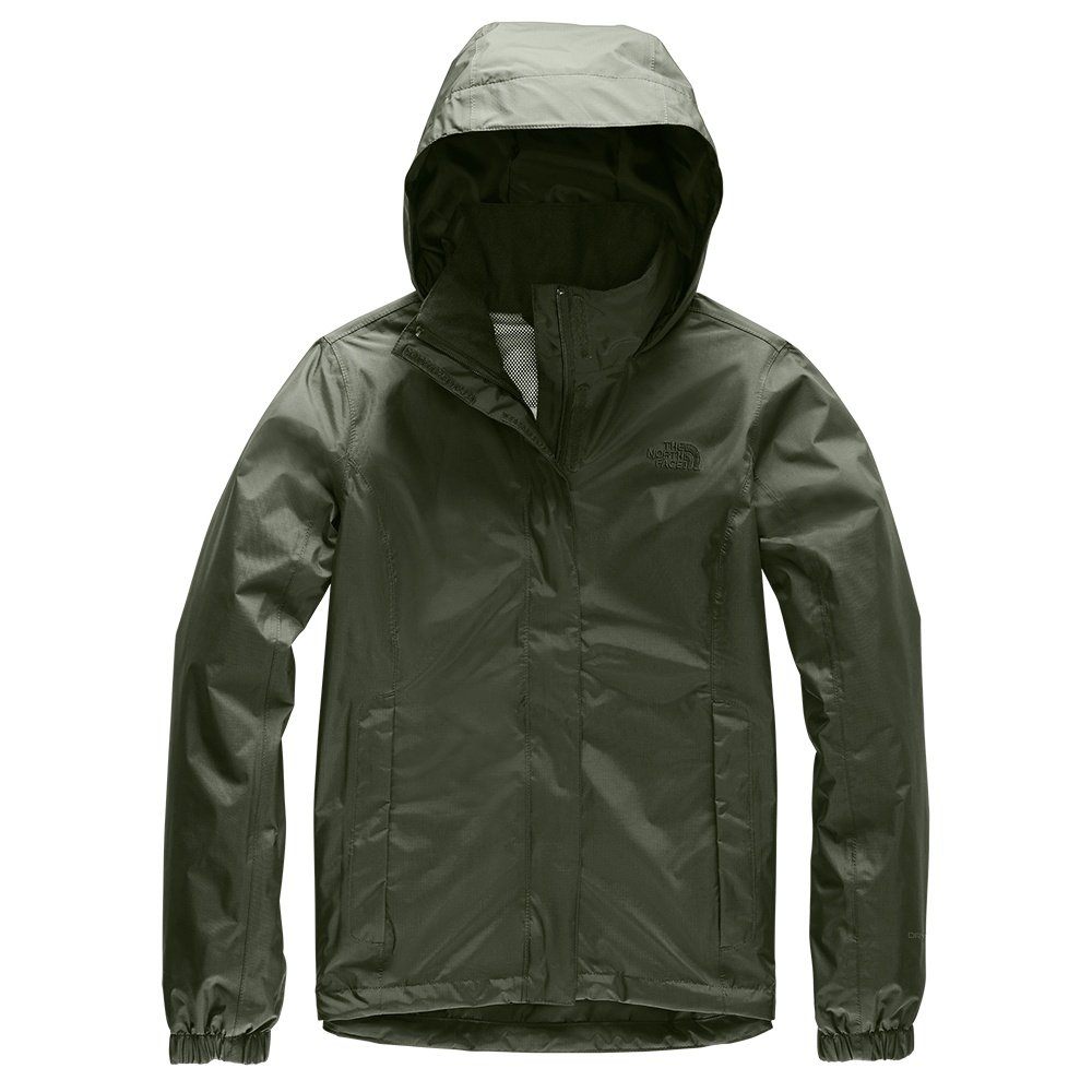 The North Face Resolve 2 Rain Jacket (Women's) - New Taupe Green