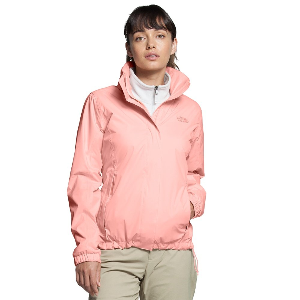 The North Face Resolve 2 Rain Jacket (Women's) - Impatiens Pink
