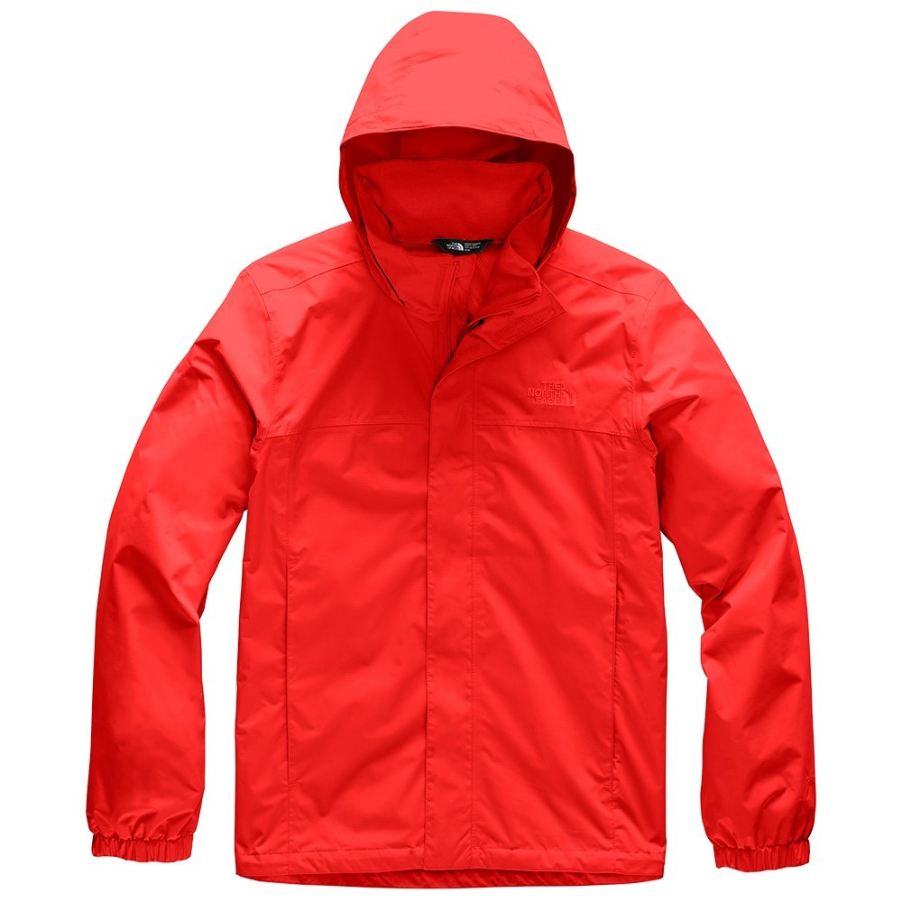 The North Face Resolve 2 Rain Jacket (Men's) - Fiery Red