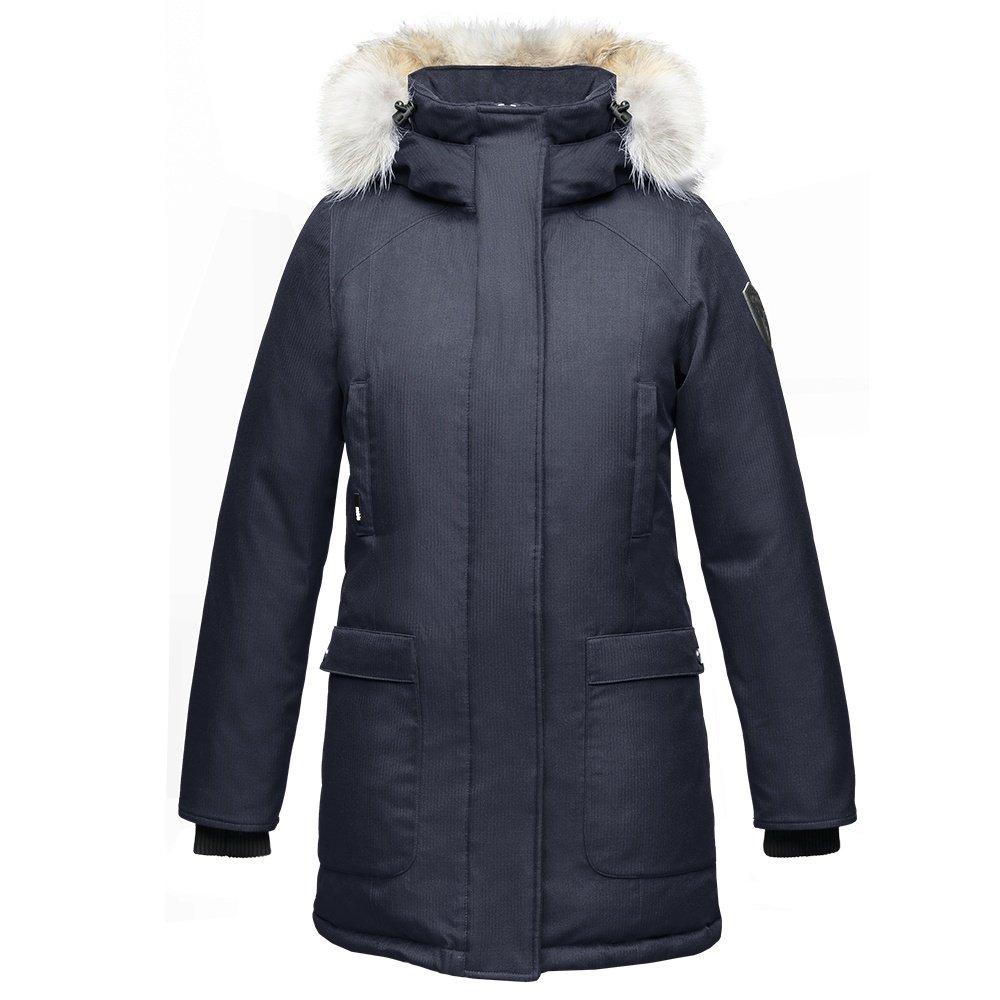 Nobis Carla Parka Coat (Women's) - Navy. Loading zoom
