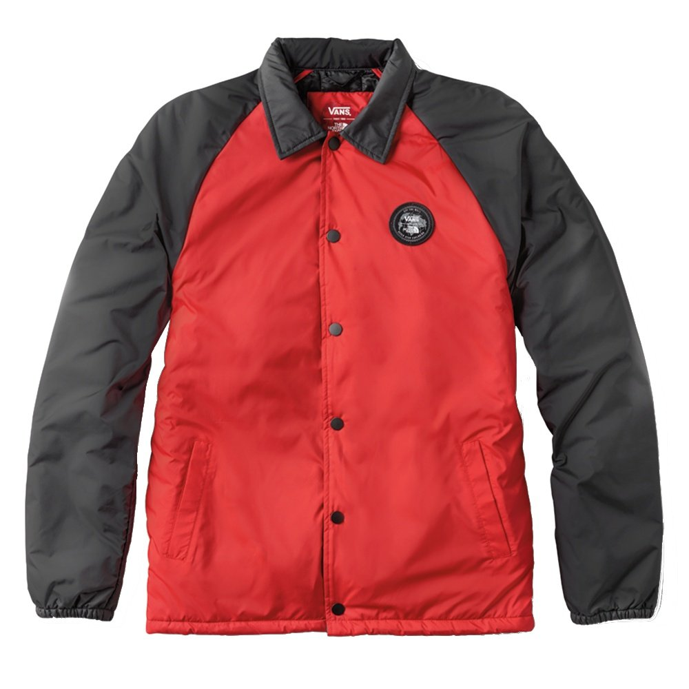 Vans X The North Face Torrey Coach Jacket - TNF Red/TNF Black