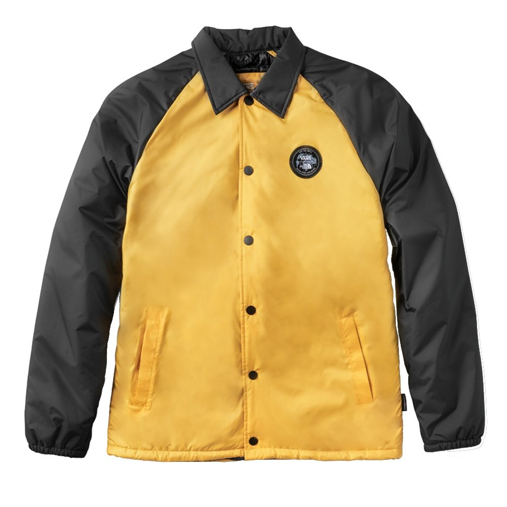 Vans X The North Face Torrey Coach Jacket - TNF Yellow/TNF Black